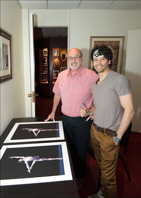 Herman Cornejo Limited Edition Signed Giclée Print by Gene Schiavone
