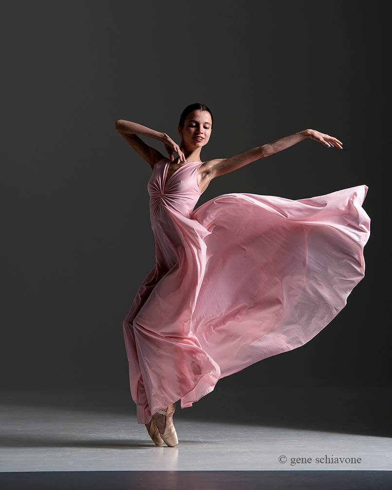 Pink Olga Nightgown Project – Gene Schiavone Ballet Photography