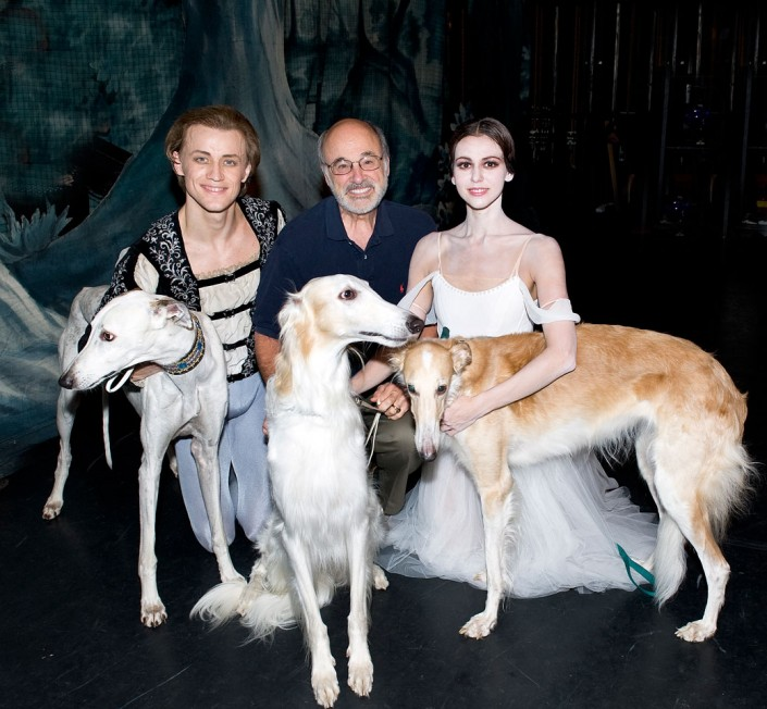 stasia and Denys Matvienko after Giselle with Photographer Gene Schiavone