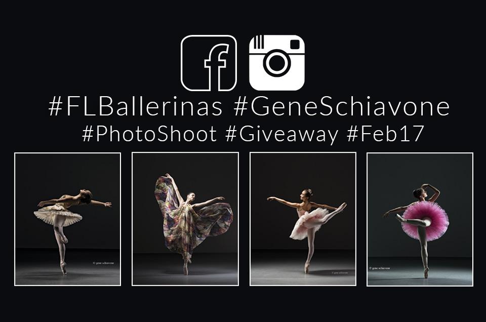 #FLBallerinas #GeneSchiavone #PhotoShoot #GIVEAWAY #Feb17
